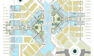 Masterplan for 22,000 pupil university, Jubil, Saudi Arabia